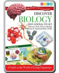 Wonders of Learning: Discover Biology STEM Educational Tin Set
