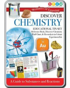 Wonders of Learning: Discover Chemistry STEM Educational Tin Set