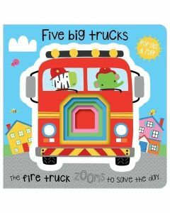 Five Big Trucks Pop Out & Play
