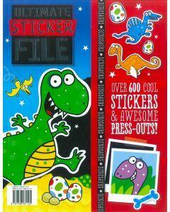 Ultimate Sticker File Dinosaurs