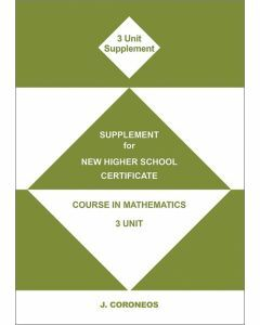 Supplement for 3 Unit Mathematics (Item No. 11)
