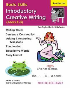 Introductory Creative Writing Yrs K to 3  (Basic Skills No. 114)