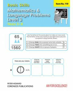 Basic Skills Maths & Language Problems Level 3  Yrs 5-8 (Basic Skills No. 119)