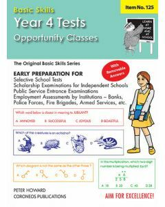 Year/Grade 4 Tests (O.C.) Multiple Choice Yrs 4-5 (Basic Skills No. 125)