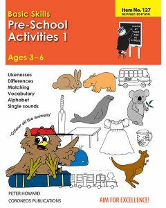 Pre-School Activities 1 (Basic Skills No. 127)