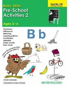 Pre-School Activities 2 (Basic Skills No. 128)