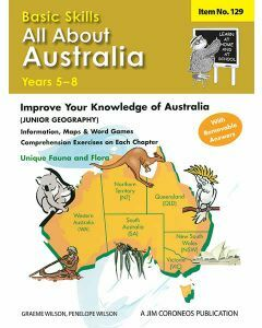 All About Australia Yrs 5-8 (Basic Skills No. 129)