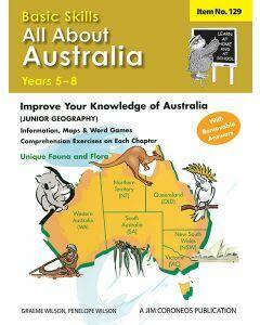 All About Australia Yrs 5-8 (Basic Skills No. 129)