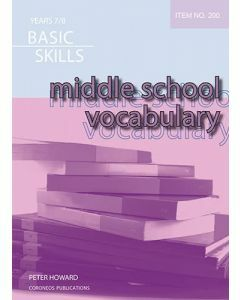 Middle School Vocabulary (Basic Skills Item 200)