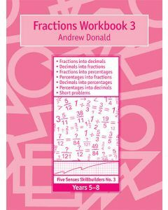 Skillbuilders Fractions Workbook 3
