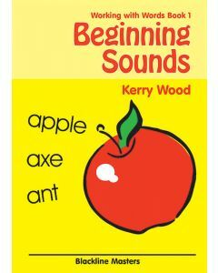Working with Words Book 1: Beginning Sounds Blackline Masters
