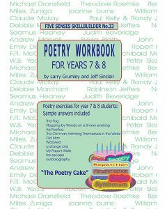 Poetry Workbook for Years 7 & 8