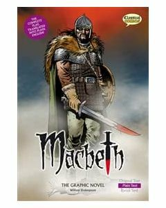 Macbeth the Graphic Novel - Plain Text (Classical Comic)