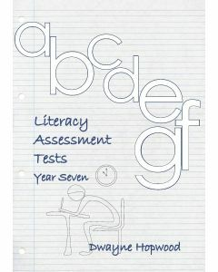 Literacy Assessment Tests Year 7