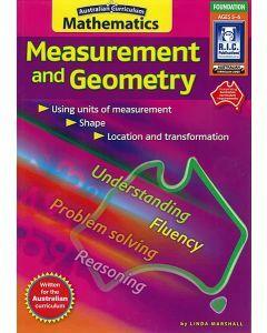 Australian Curriculum Maths: Measurement & Geometry Foundation