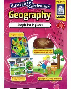 Australian Curriculum Geography: Foundation