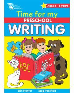 Time for my Preschool Writing (Ages 3-5)