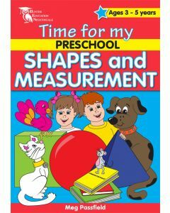 Time for my Preschool Shapes and Measurement (Ages 3-5)