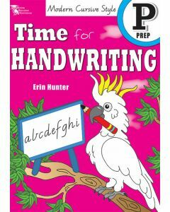 Time for Handwriting P (Modern Cursive Style)