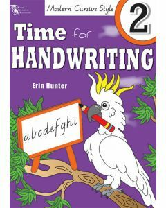 Time for Handwriting 2 (Modern Cursive Style)