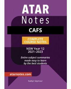 ATAR Notes: HSC Year 12 CAFS Notes