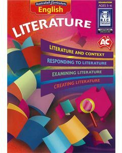 Australian Curriculum English – Literature Foundation