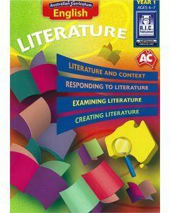 Australian Curriculum English – Literature Year 1