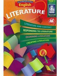 Australian Curriculum English – Literature Year 3
