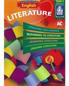 Australian Curriculum English – Literature Year 3