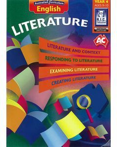 Australian Curriculum English – Literature Year 4