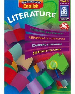Australian Curriculum English – Literature Year 5