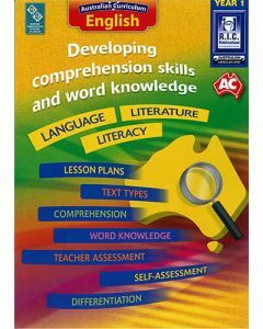 Developing comprehension skills and word knowledge Year 1