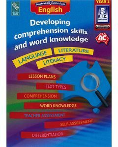 Developing comprehension skills and word knowledge Year 2