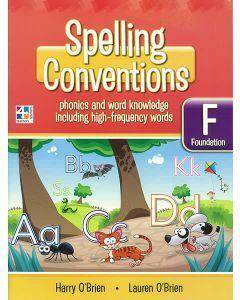 Spelling Conventions F Scrapbook