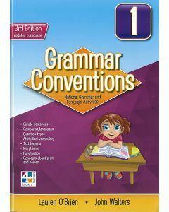 Grammar Conventions Book 1 (3ed)