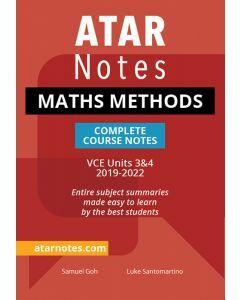ATAR Notes: VCE Mathematical Methods Units 3&4 Notes