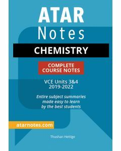 ATAR Notes: VCE Chemistry Units 3&4 Notes