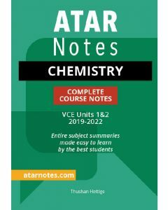 ATAR Notes: VCE Chemistry Units 1&2 Notes