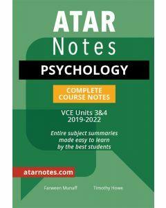ATAR Notes: VCE Psychology Units 3&4 Notes