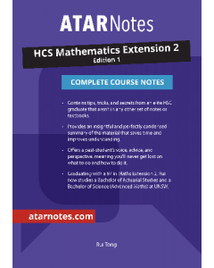 ATAR Notes: HSC Mathematics Extension 2 Complete Course Notes