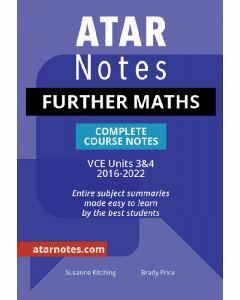 ATAR Notes: VCE Further Mathematics Units 3&4 Notes