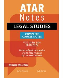 ATAR Notes: VCE Legal Studies Units 3&4 Notes
