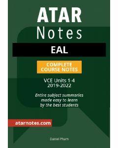 ATAR Notes: VCE EAL Units 1-4 Notes