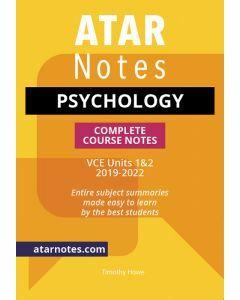 ATAR Notes: VCE Psychology Units 1&2 Notes