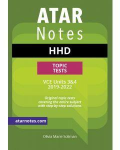 ATAR Notes: VCE HHD Units 3&4 Topic Tests