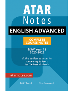 ATAR Notes: Year 12 English Advanced Complete Course Notes