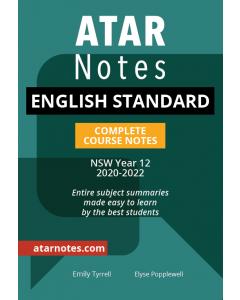 ATAR Notes: HSC Year 12 English Standard Notes