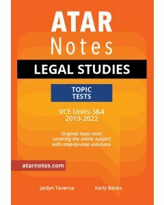 ATAR Notes: VCE Legal Studies Units 3&4 Topic Tests