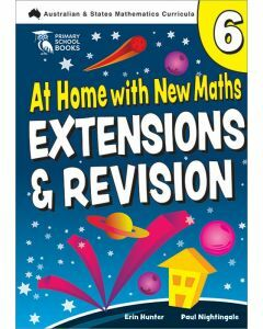 At Home with New Maths: Extension & Revision 6