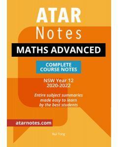 ATAR Notes: HSC Year 12 Mathematics Advanced Notes